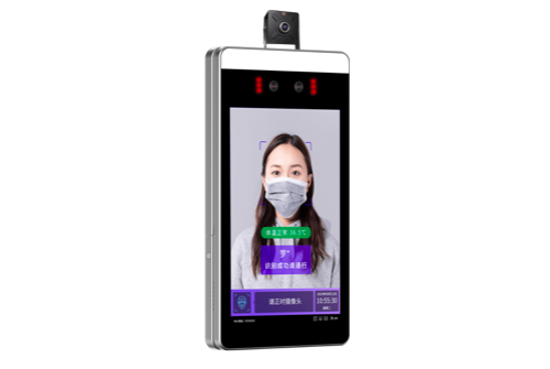 7寸人脸识别测温系统壁挂式(疫情新产品)